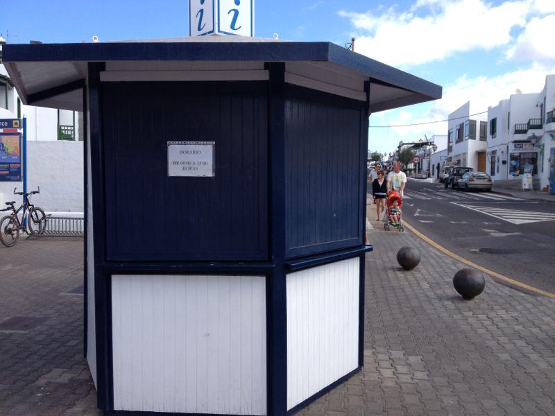 La oficina de informaci n tur stica de playa blanca for Oficina de informacion turistica