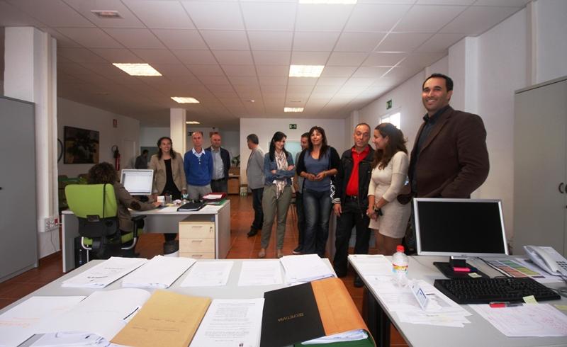 El ayuntamiento de t as inaugura sus nuevas oficinas de for Oficina recaudacion