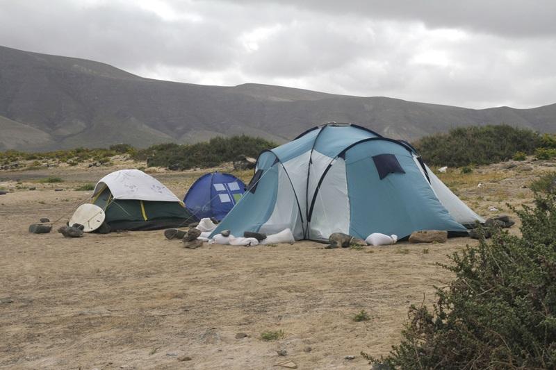 Pp y pil piden que se habilite una zona de acampada en san for Camping el jardin san juan
