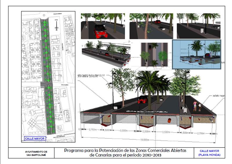 El proyecto de zona comercial abierta de playa honda - Ofertas lanzarote agosto ...