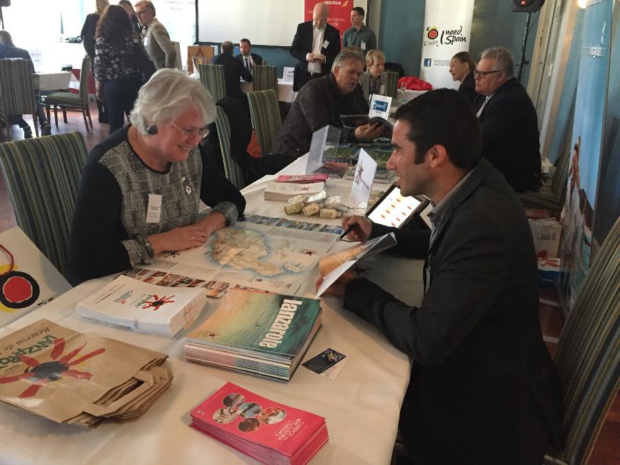 Lanzarote muestra sus encantos en el d a de espa a en oslo for Oficina turismo lanzarote