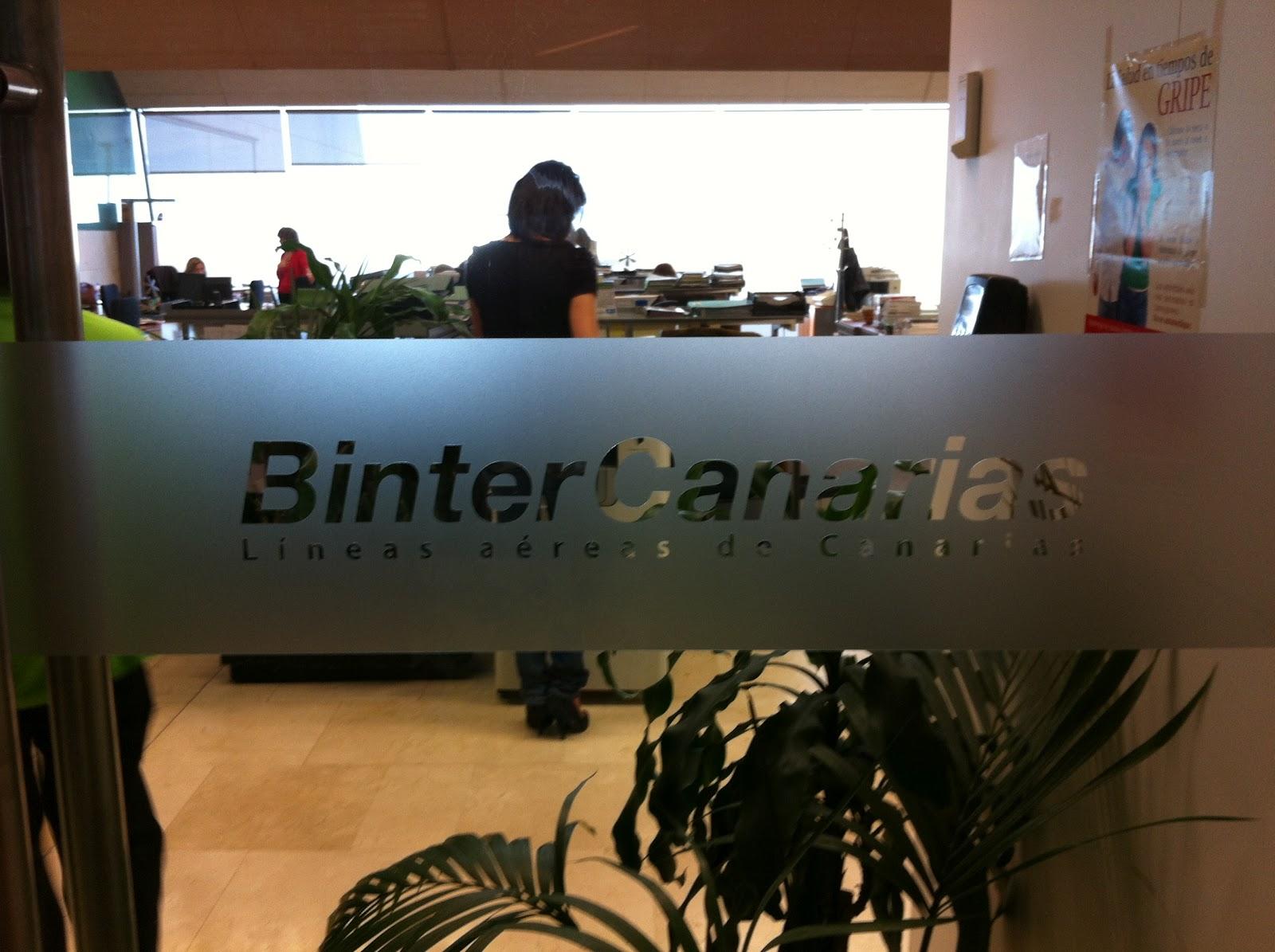 Binter promociona las excelecias tur sticas de nuevos for Oficina turismo canarias