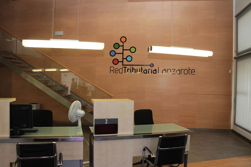 Arrecife abre una oficina de la 39 red tributaria de for Red de una oficina