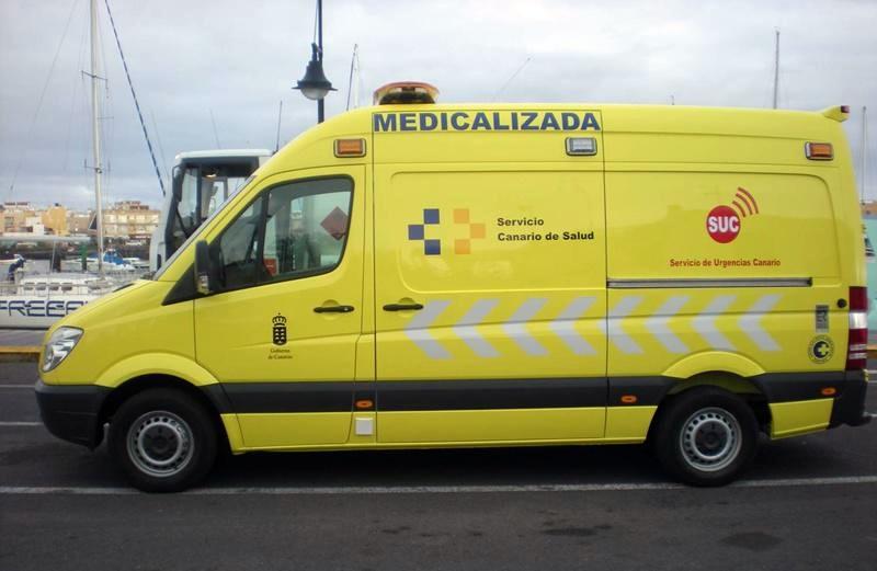 Una mujer herida de carácter grave tras ser atropellada en Gran Canaria
