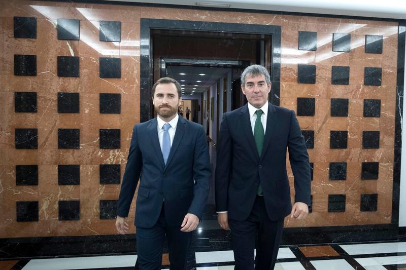 """Clavijo : """"Canarias acude a la World Travel Market con una convicción: cuidar uno de nuestros principales mercados, el británico"""""""