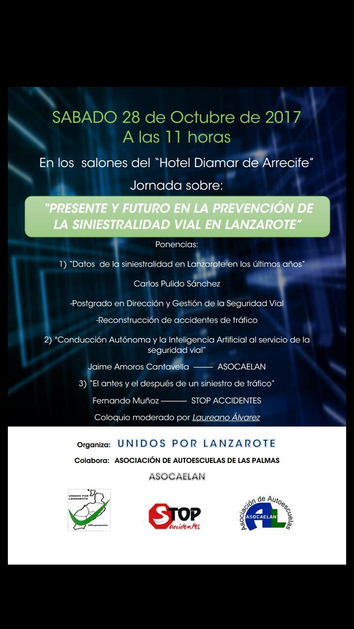 Unidos Por Lanzarote Organiza Una Jornada Sobre Seguridad