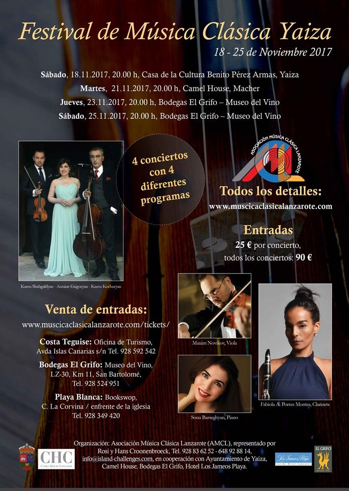 Cuatro conciertos avivan el festival de m sica cl sica for Casa piscitelli musica clasica