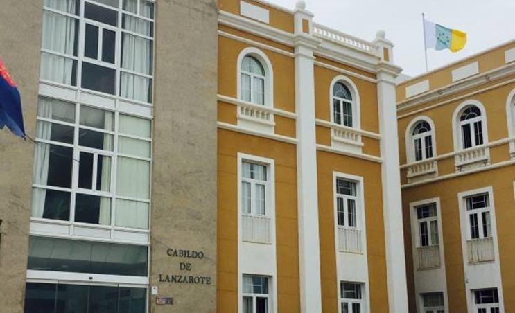 100x80cm Bandera de Canarias Siete Estrellas Verdes