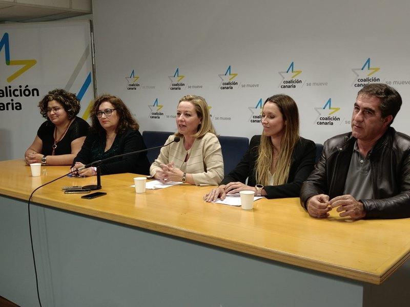 Resultado de imagen de Coalición Canaria las palmas 2019