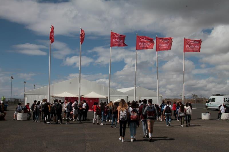 Más De 2 100 Estudiantes Visitarán Estos Días Planeáte 2019