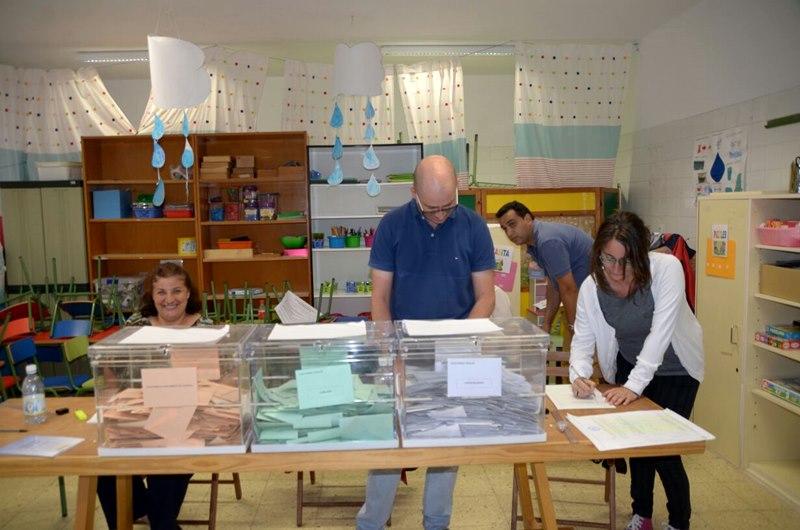 Siga el recuento de votos lancelot digital Ministerio del interior escrutinio